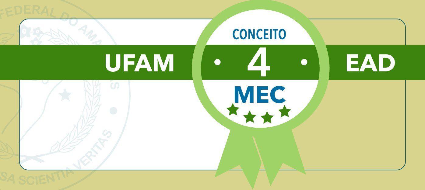 Educação à distância da UFAM obtém nota 4 na avaliação do INEP/MEC